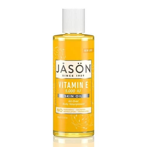 Jasons Natural Organic Vitamin E Oil 5000iu